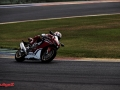Nicky Hayden testing the 17 YM CBR1000RR FIREBLADE SP