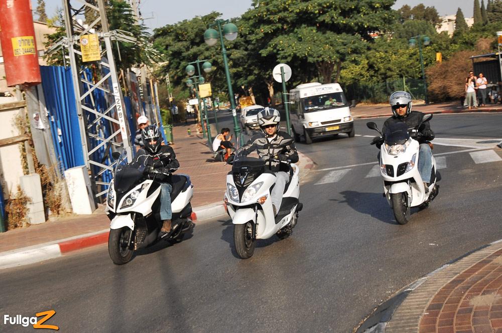 בנפט מדריך: רכישת קטנוע מיד-שנייה - Fullgaz PP-32