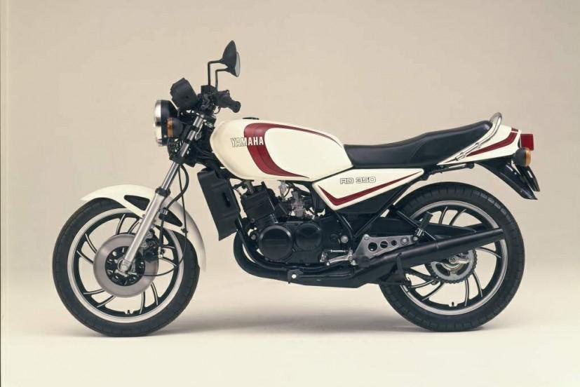 Yamaha RD350 81