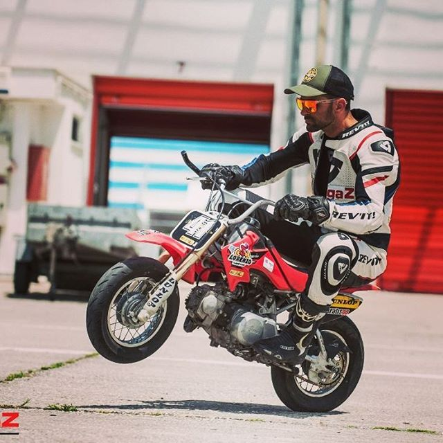 Drive out of the corner honda hondaxr50 xr50 minibike serreshellip