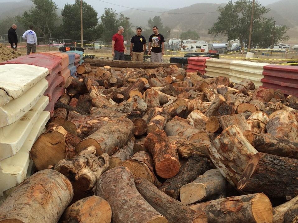 השלישייה הישראלית בוחנת עצים למנגל שאחרי המרוץ