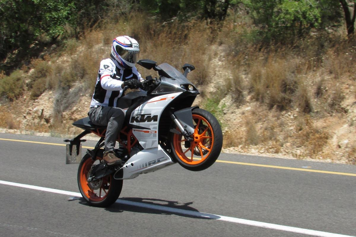עיצוב בהשראת אופנוע ה-Moto3 של ק.ט.מ