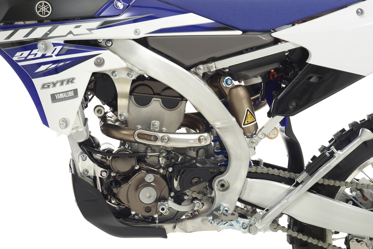 WR250F - ב-2015 התהפך להם המנוע