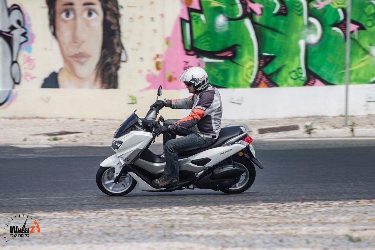 קטנוע 125 מודרני עם תצרוכת דלק נמוכה