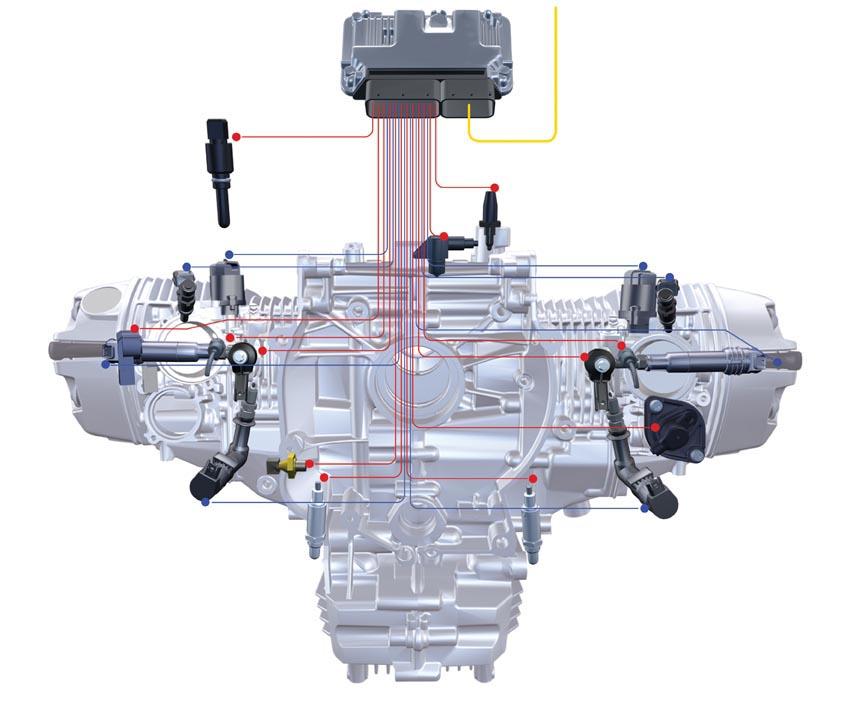 עוד אחת של ב.מ.וו - מערכת הזרקת דלק / ניהול מנוע