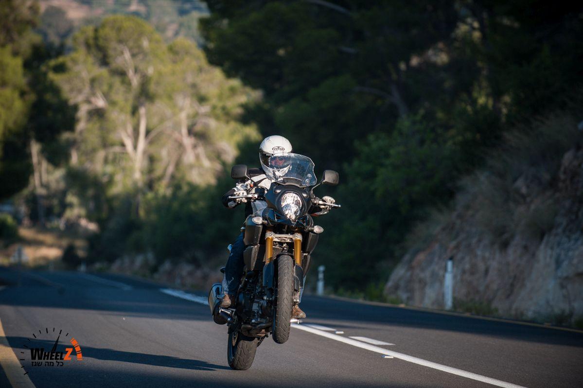 אופנוע טוב, שבו צריך לשפר את מיגון הרוח ונוחות המושב