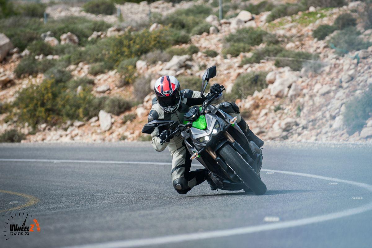 Z1000 - יופי של אופנוע!
