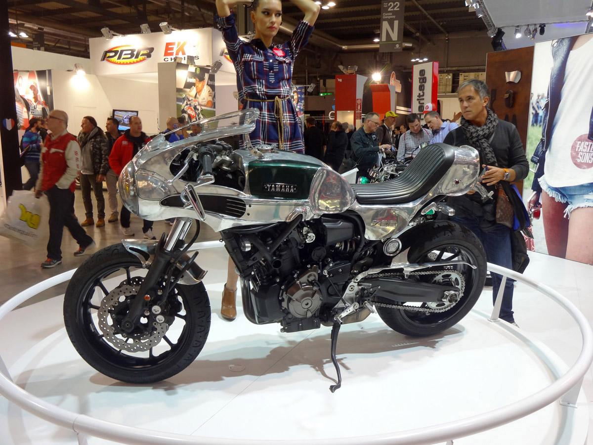 XSR700 בבנייה אישית