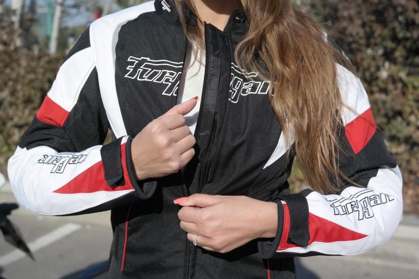 מגניב ביותר ציוד במבחן: מעיל נשים Furygan Xenia - Fullgaz ZT-22
