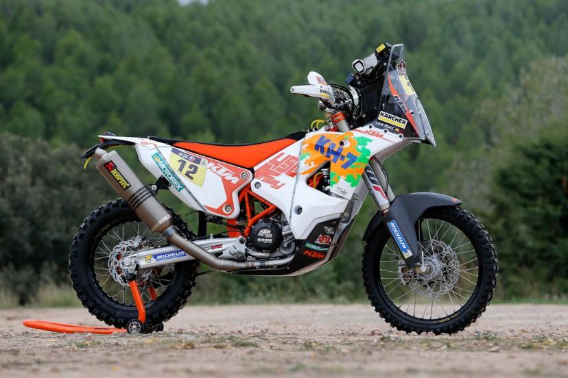 128724_Laia Sanz KTM 450 RALLY 2015