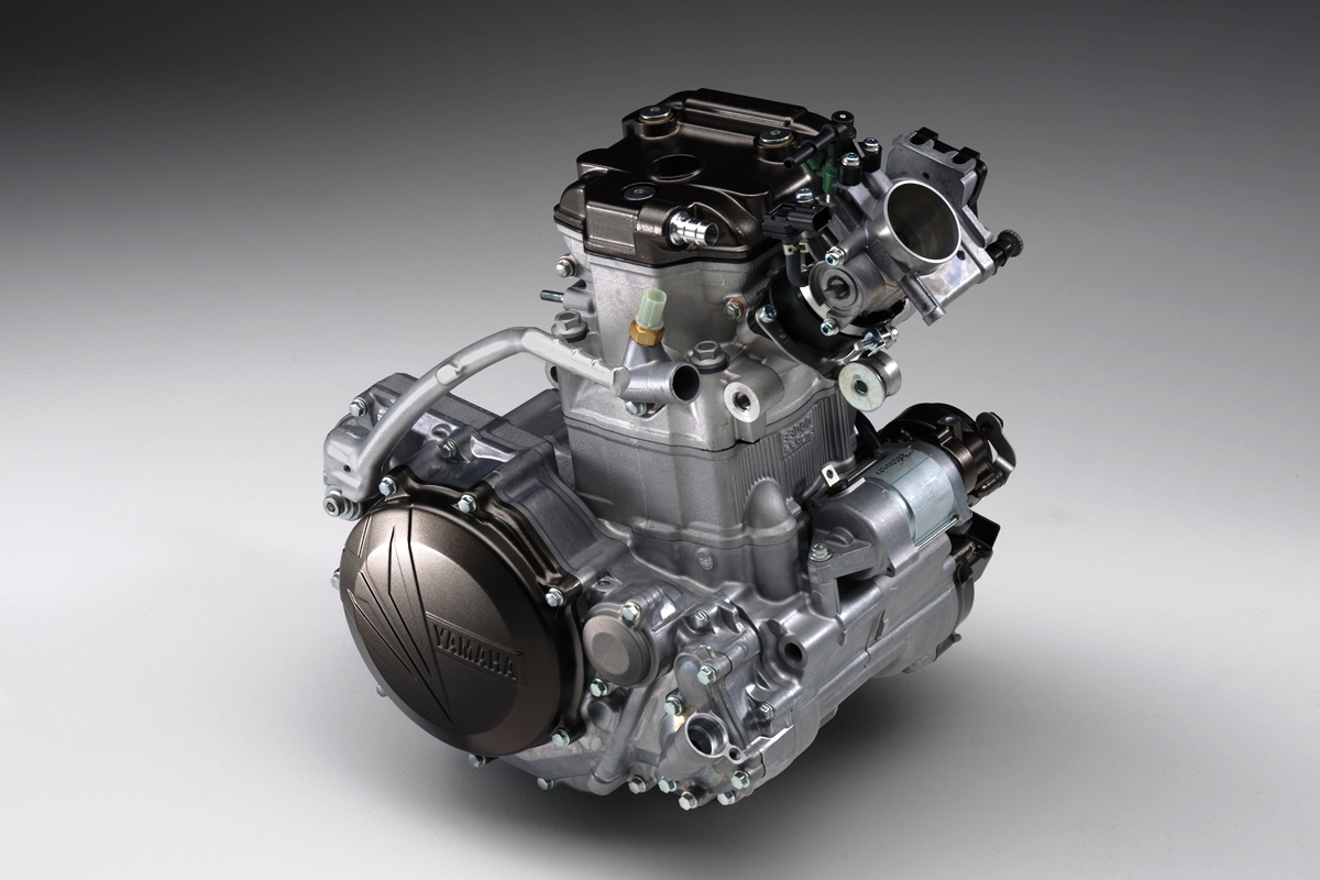 המנוע של ה-WR450F החדש