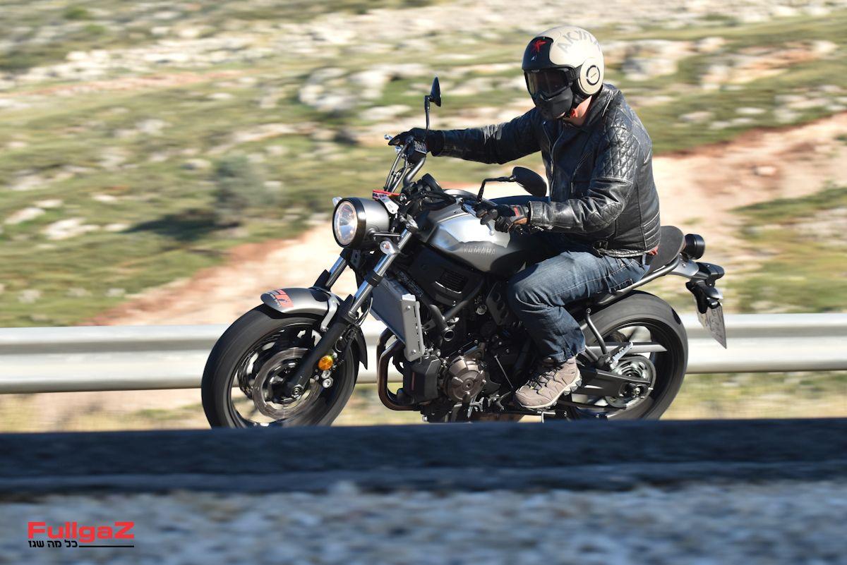 מכלולים פשוטים, אבל האופנוע עובד מצוין
