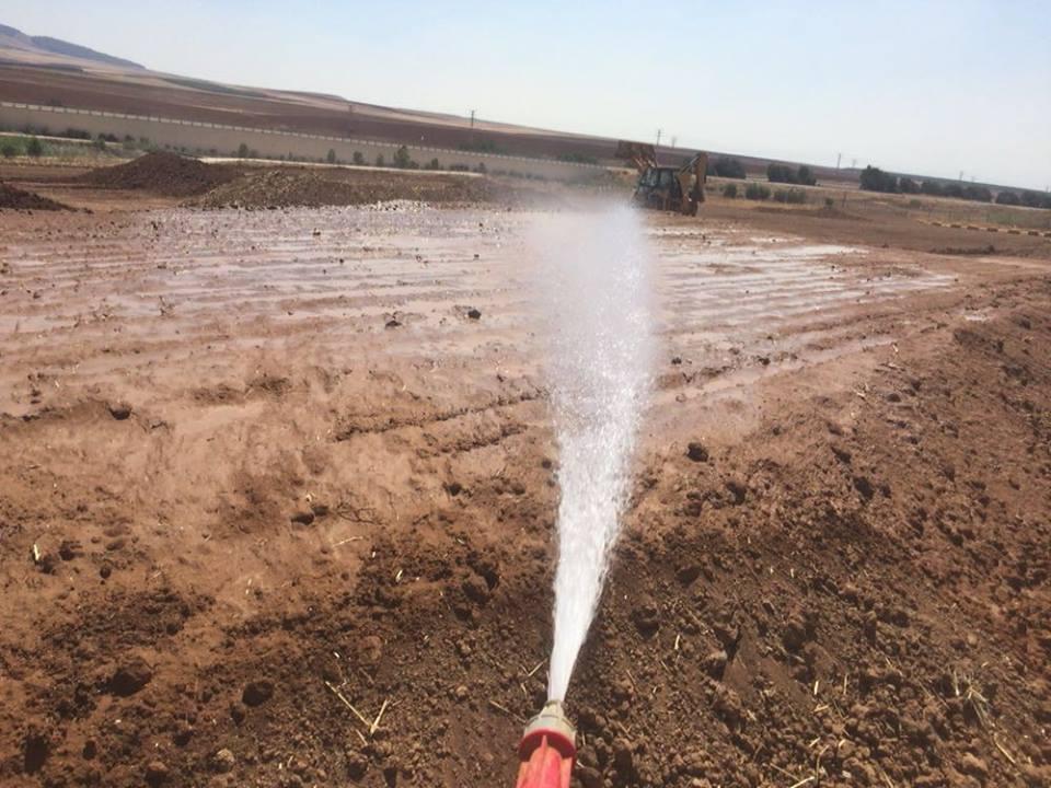 יש מערכת השקיה