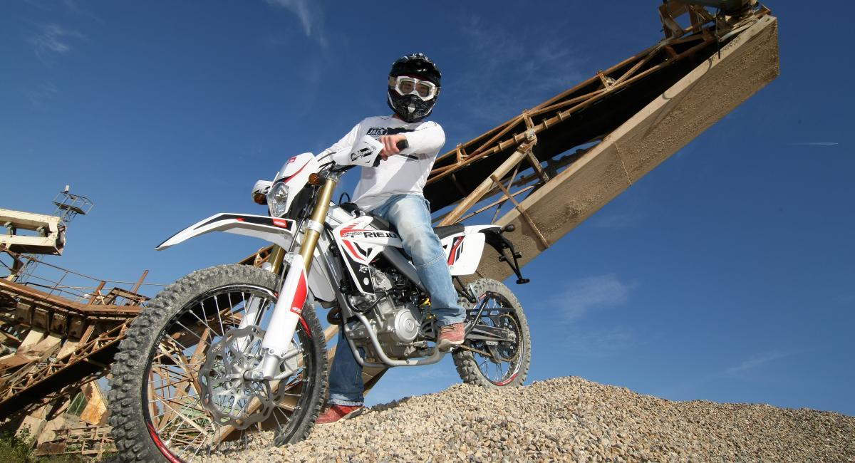 """אופנועי השטח של RIEJU - בנפחים 125 ו-200 סמ""""ק"""