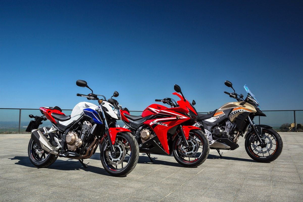 משפחת ה-CB500 של הונדה - CB500X, CBR500R ו-CB500F