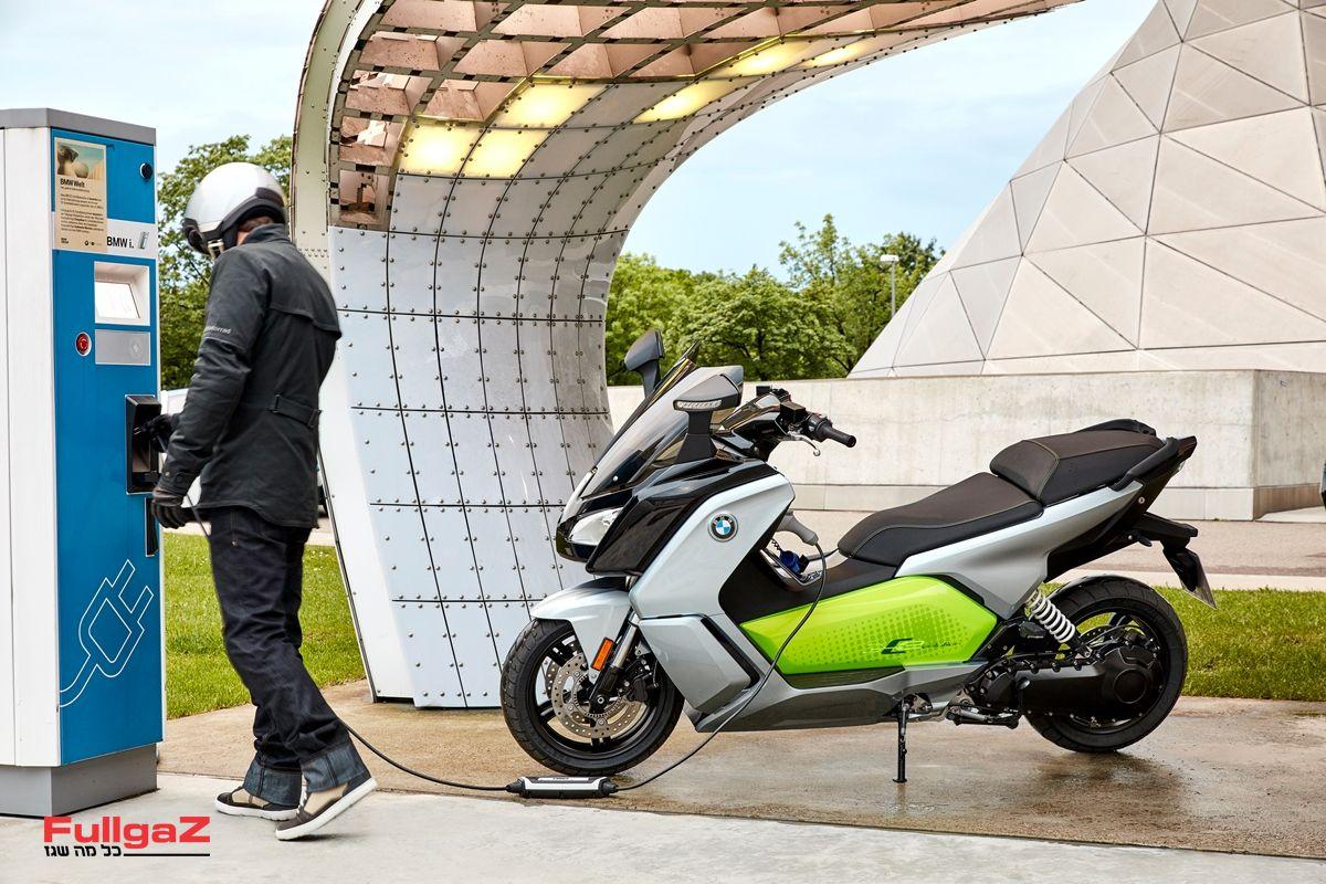 """ה-C Evolution החשמלי דור 2 - מעכשיו גם ברישיון נהיגה A2 עד 125 סמ""""ק"""
