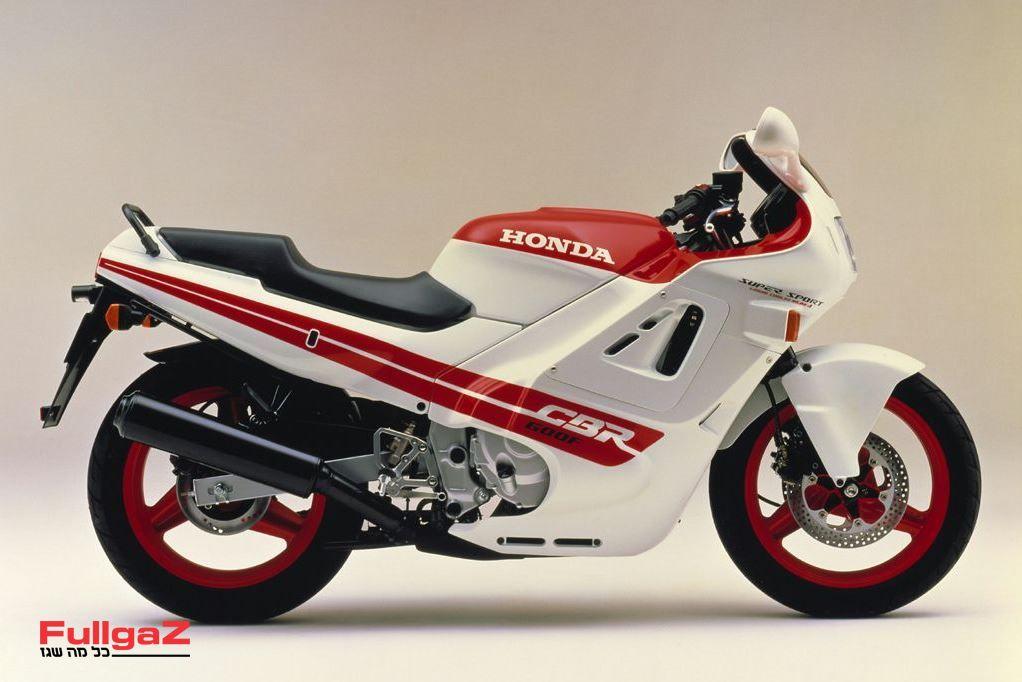 ה-CBR600F המקורי של 1987 - האגדה נולדה