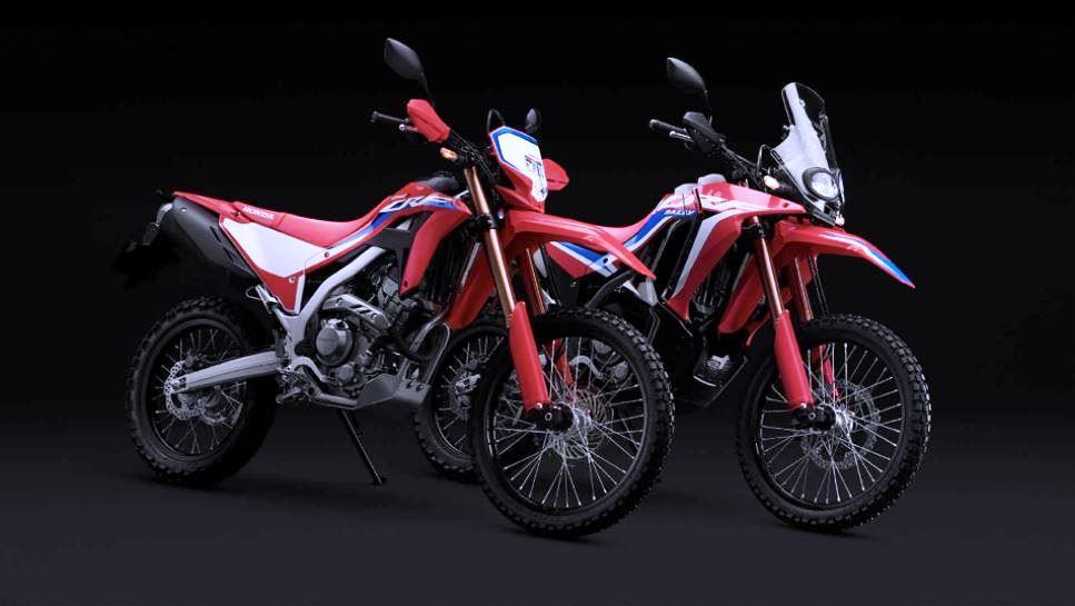 הונדה CRF250L ו-CRF250 ראלי