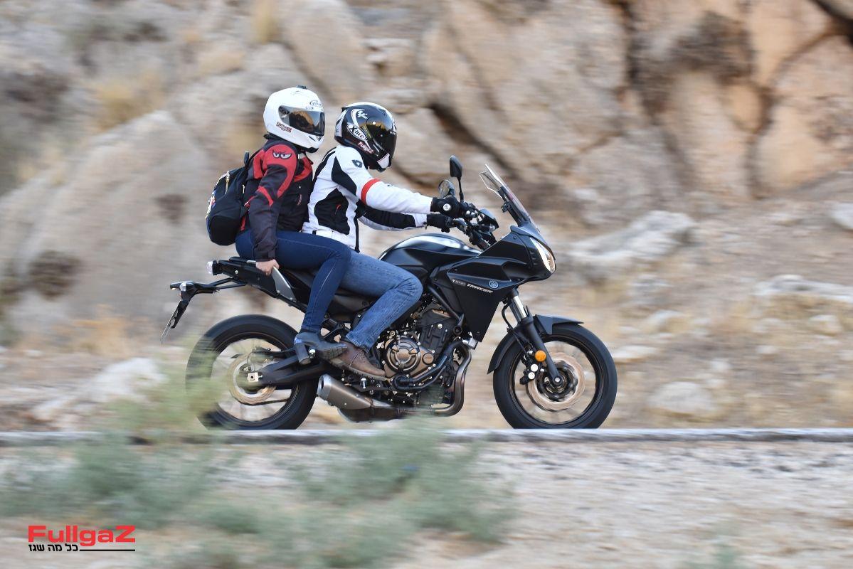אופנוע ספורט-תיור על בסיס פלטפורמת ה-MT-07