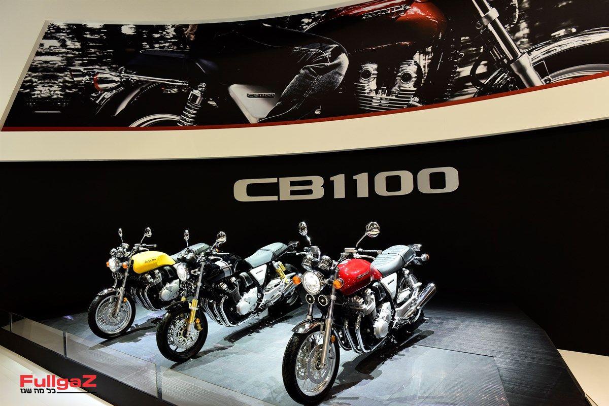 ההונדה CB1100EX ו-CB1100RS החדשים