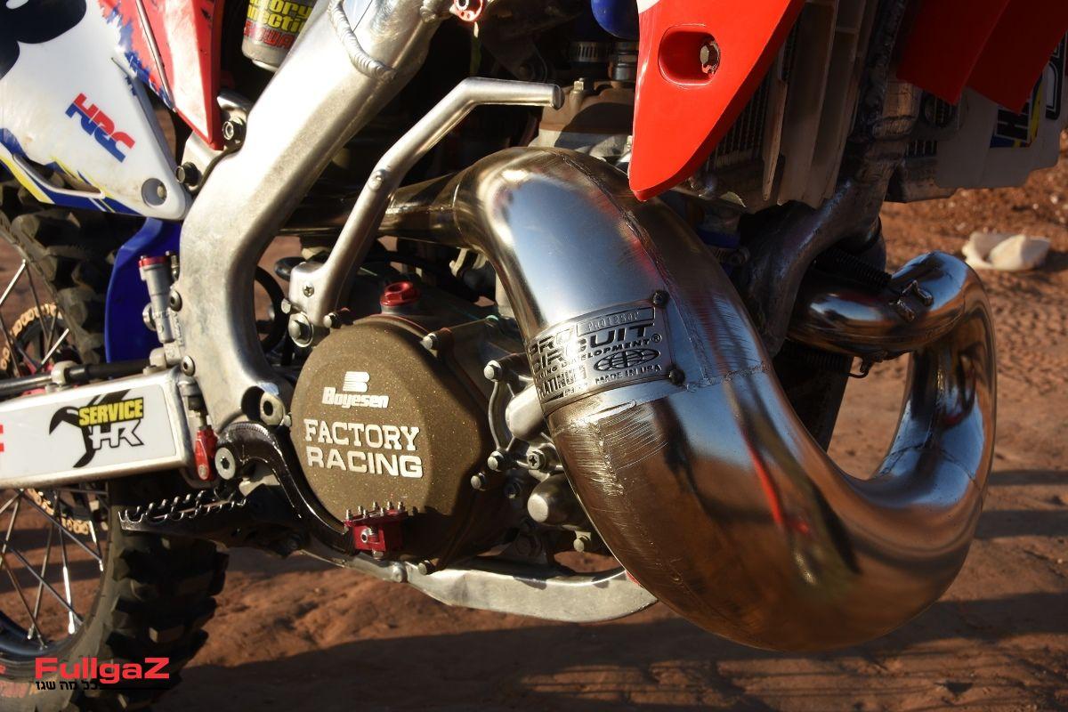 מנוע 2 פעימות של הונדה CR250R שנת 2001 - חדש ומשופר