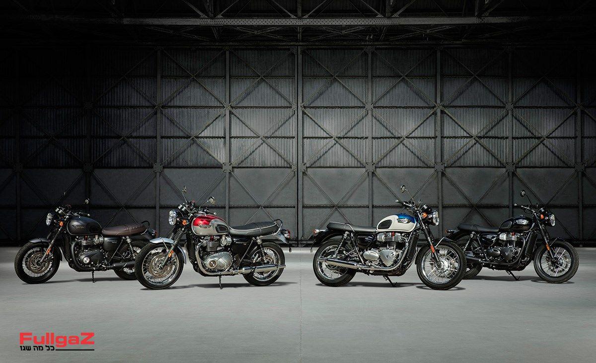 משפחת הבונוויל - T100 ו-T120