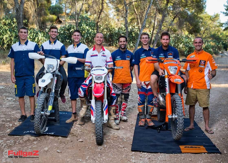 8 הרוכבים שייצגו את ישראל בסיקס דייז 2016