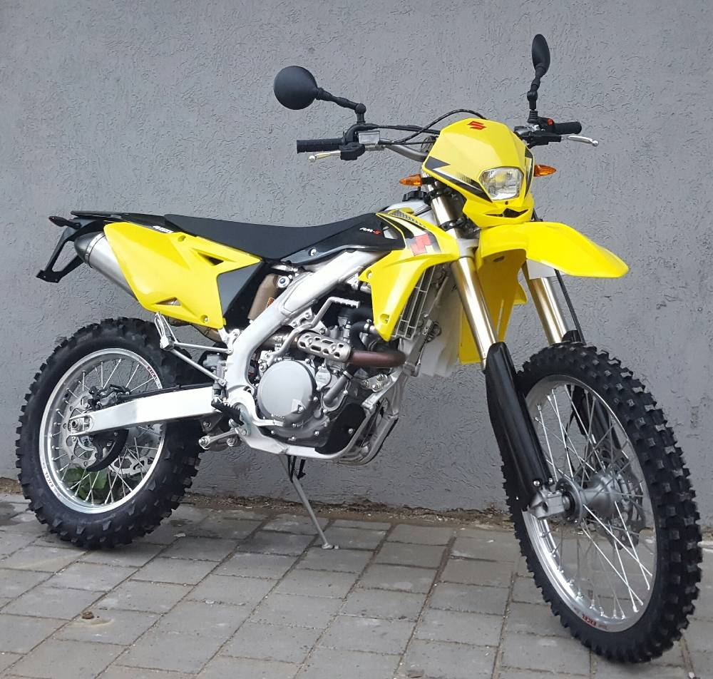 סוזוקי RM-Z450 - עם תקינת כביש מלאה וברישוי צהוב