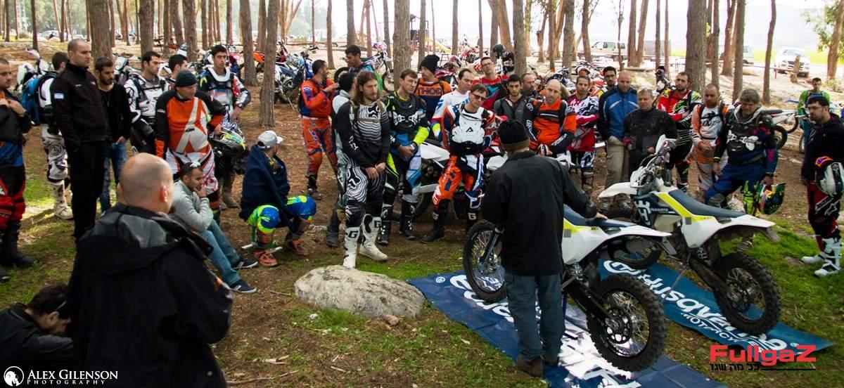 למעלה מ-100 רוכבים