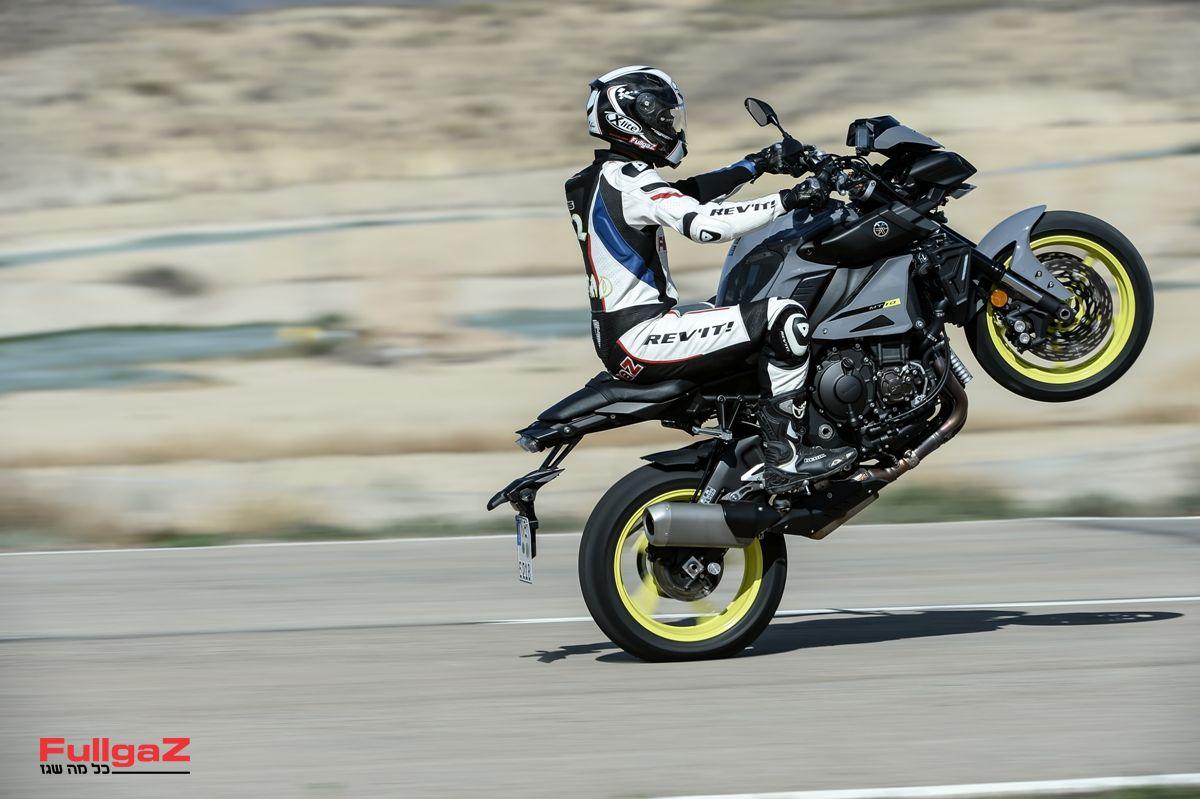 ימאהה MT-10 - אופנוע מגניב ורכיבה ראשונה