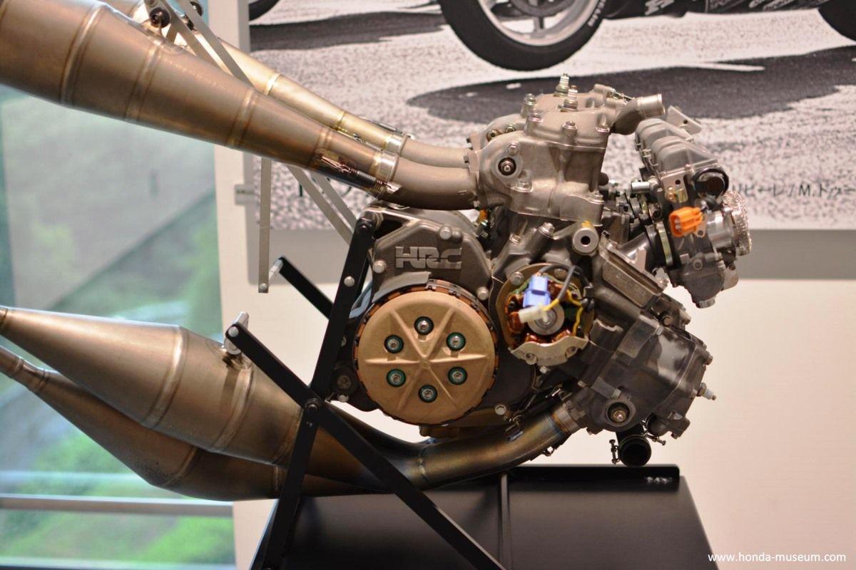 מנוע ה-NSR500 של 1997 (צילום: מוזיאון הונדה)