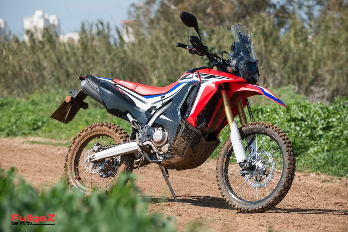 הונדה CRF250 ראלי