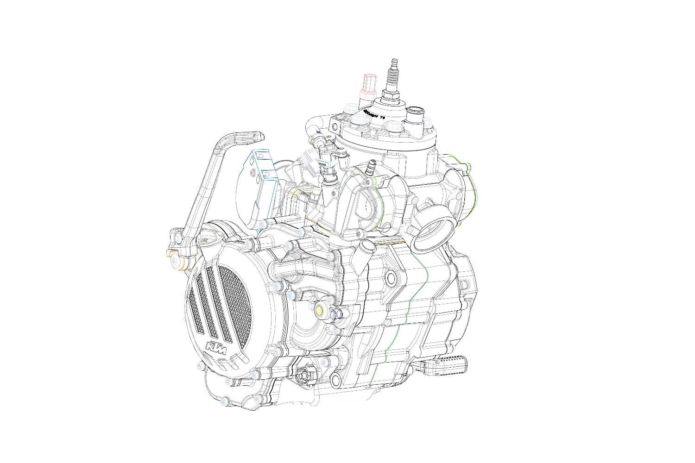 מנוע ה-250/300EXC TPI של 2018