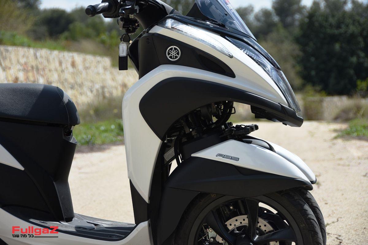 תלת-גלגלי עם ABS ובלמים משולבים - 18% הנחה בביטוח החובה