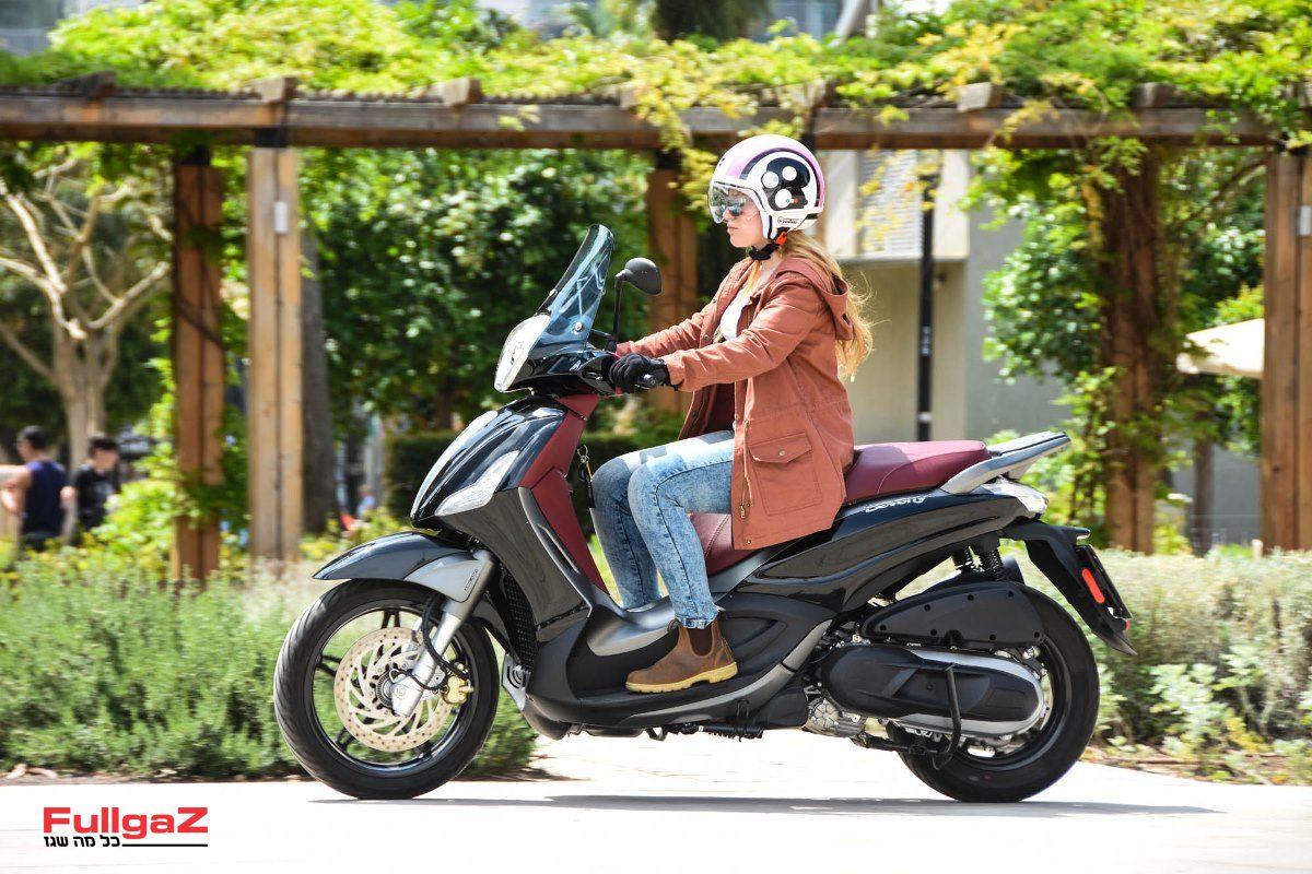 הכי אופנוע בקטנועים