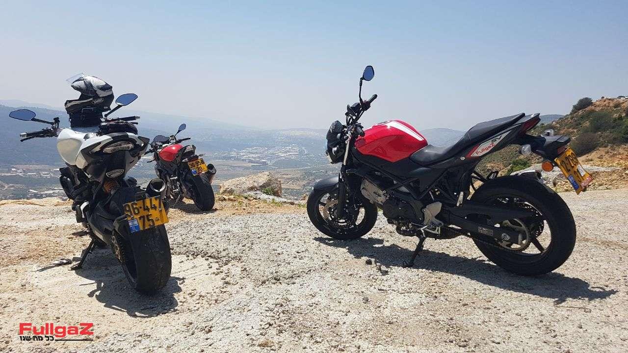 אופנועי קצה חדישים ויקרים, ואחד SV650