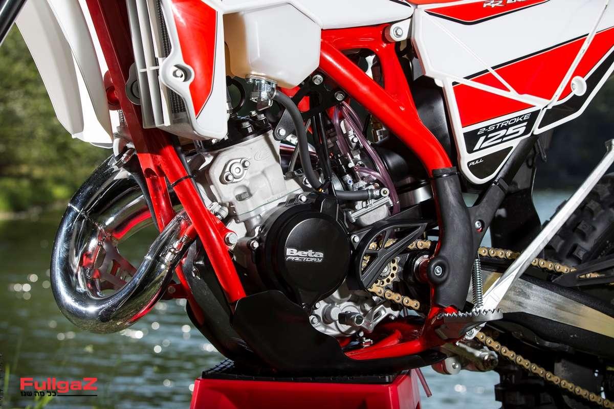 """מנוע 125 סמ""""ק חדש לחלוטין - מתוכנן ומיוצר על-ידי בטא"""