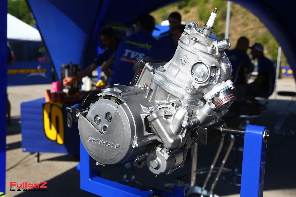 """המנוע - 125 סמ""""ק מתכנון וייצור של שרקו"""