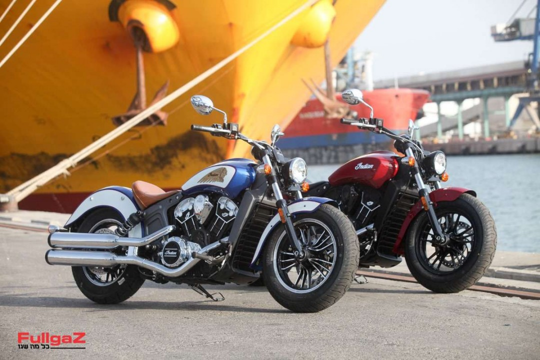 indian bikes / first exposureashdod port