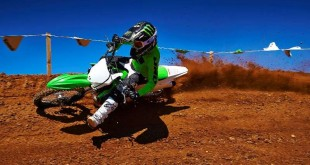 2015 Kawasaki KX line, motocross, lime green, outdoors