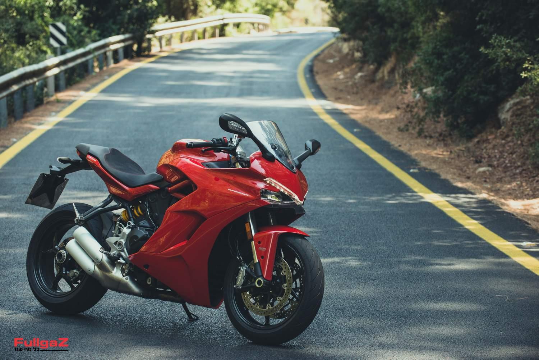 דוקאטי סופרספורט 939 - אופנוע ספורט שפוי