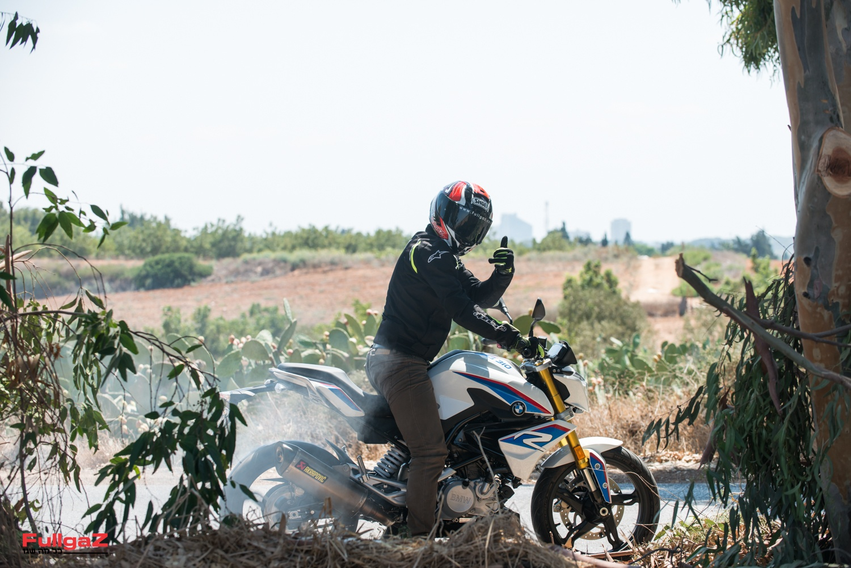 יופי של אופנוע. עבודה יפה ב.מ.וו