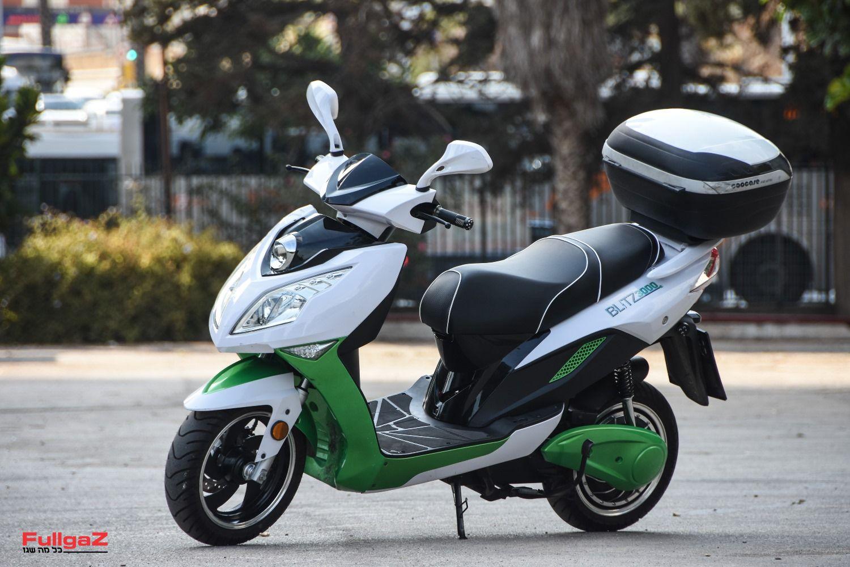 בליץ 3000+ - קטנוע חשמלי עירוני