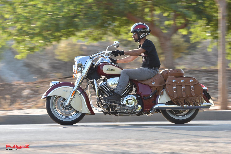 אופנוע מודרני בעיצוב של פעם
