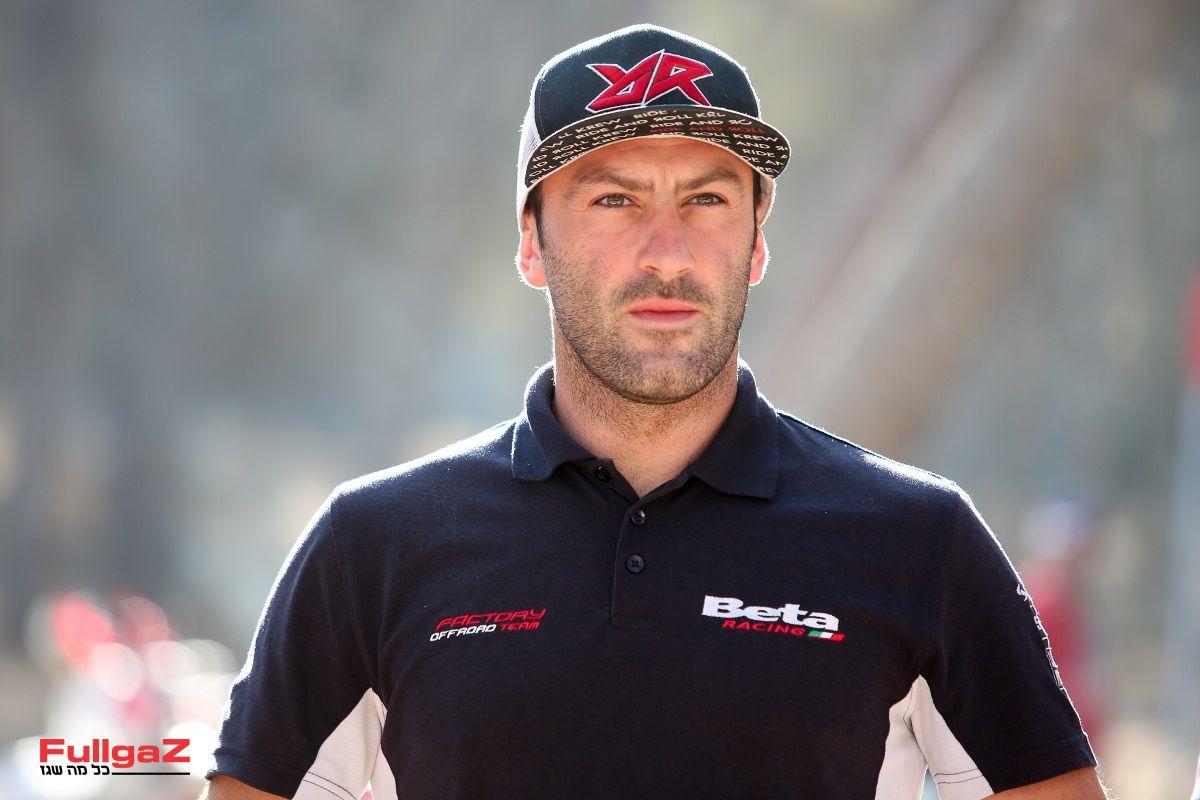 אלכס סלביני - רוכב קבוצת המרוצים של בטא באליפות העולם באנדורו