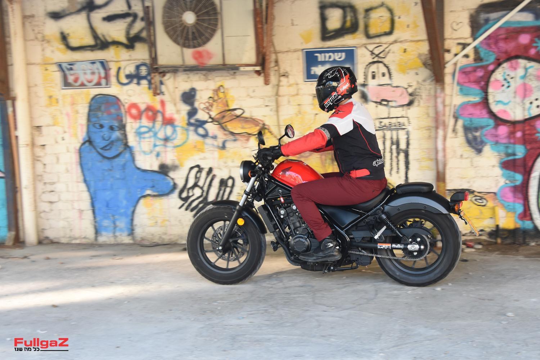 מצד שני - איזה אופנוע מגניב!