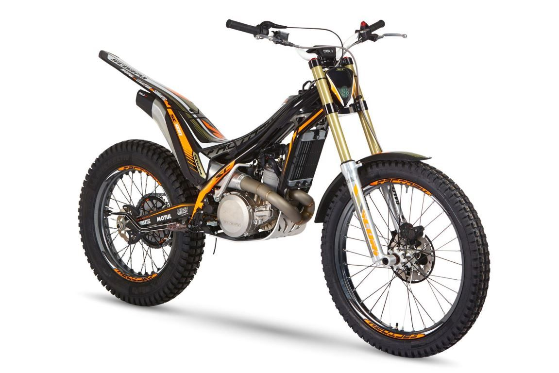 אופנועי הטריאל של סקורפה מסדרת SC