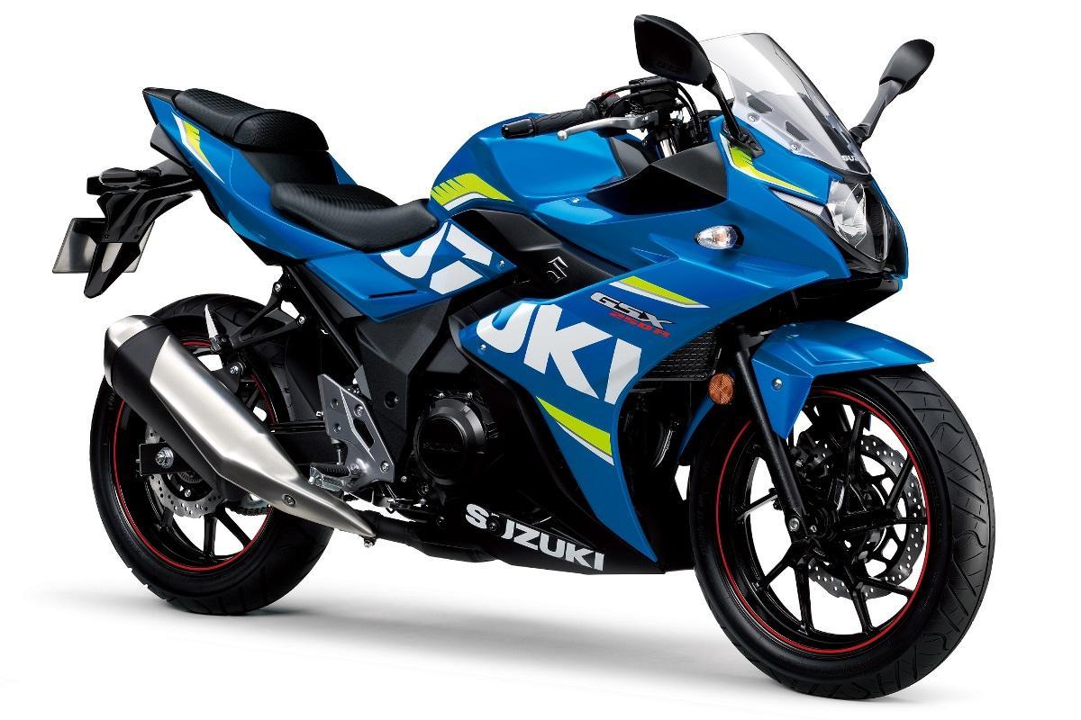 סוזוקי GSX-R250 – בשחור, בלבן או בכחול MotoGP