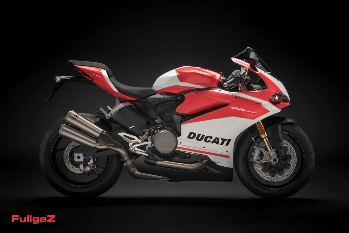 סכמת צביעה בהשראת אופנועי ה-MotoGP של דוקאטי