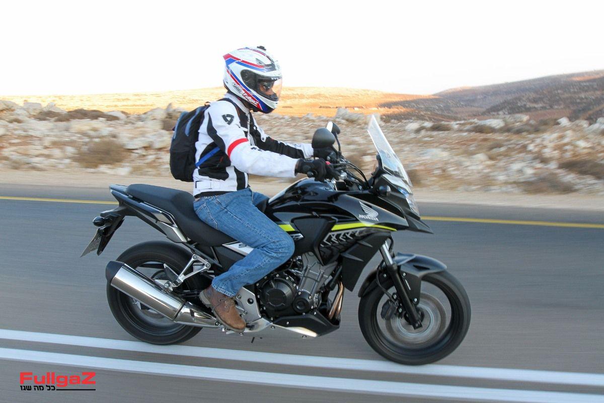 הונדה CB500X - האופנוע הנמכר בישראל ב-2017 (צילום: רונן טופלברג)